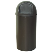 Rubbermaid<span class='rtm'>®</span> Marshal<span class='rtm'>®</span> Domed Trash Cans